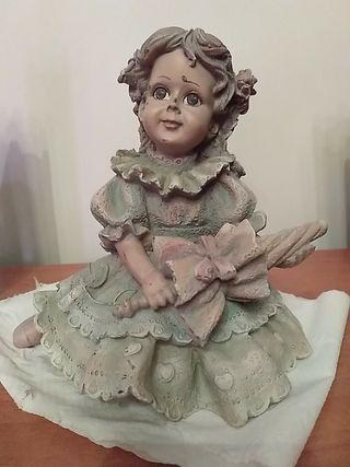 muñeca ceramica