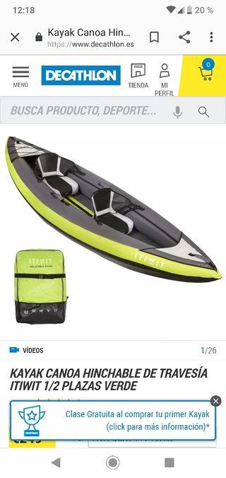 Kayak para 1 o 2 personas
