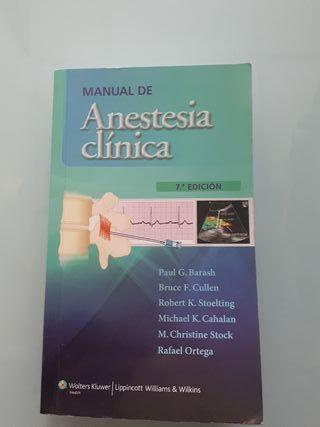 Libro: Manual de Anestesia clínica