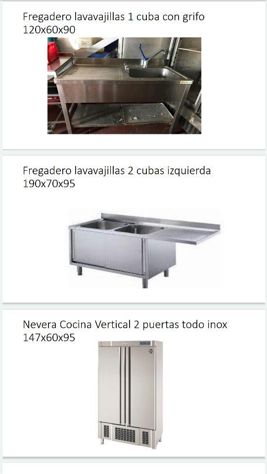 maquinaria,mobiliario inox restaurante asador parr