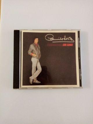 CD original Camilo Sesto CON GANAS.