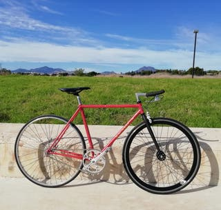 Bicicleta Fixie Single Speed Macario