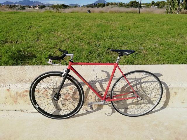 Bicicleta Fixie Single Speed Macario