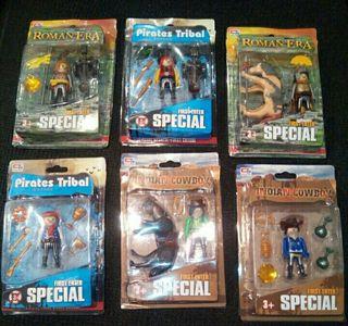 lotes de muñecos de playmobil