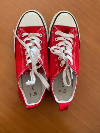 zapatos estilo converse