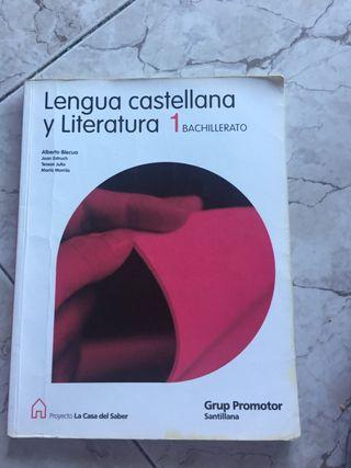 Libro lengua castellana y literatura 1ºbacillerato