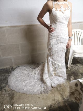 vendo vestido de novia 800€ negociables