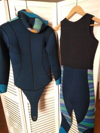 traje buceo/inmersión de señora