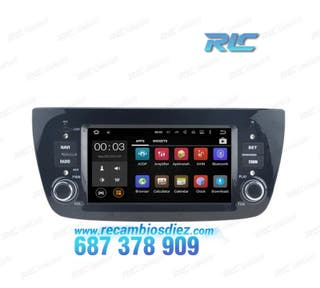 RADIO NAVEGADOR ANDROID 7.1 COCHE DVD GPS FIAT DOB