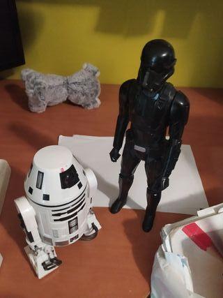 Muñecos star wars ultima película