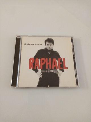 "Raphael ""MI GRAN NOCHE"". CD original"