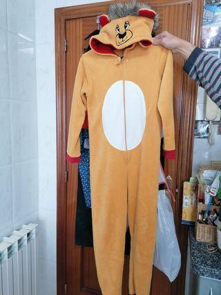 pijama mono león unisex