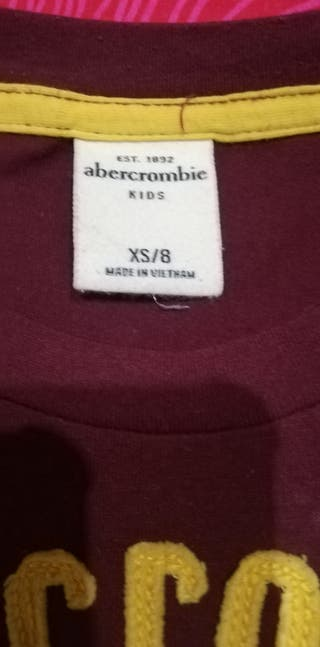 camiseta niño Abercrombie