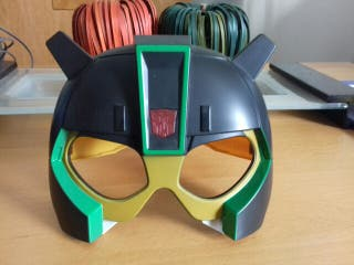 Mascara infantil TransFormer