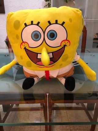 muñeco/Peluche Bob Esponja tamaño mediano