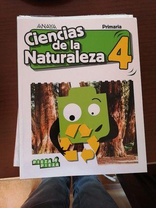 libros de 4 de primaria Anaya