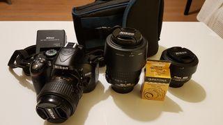 Pack Nikon 5200