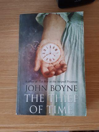 Libro en inglés: The thief of time