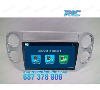 RADIO NAVEGADOR ANDROID 6 DVD GPS VW VW TIGUAN