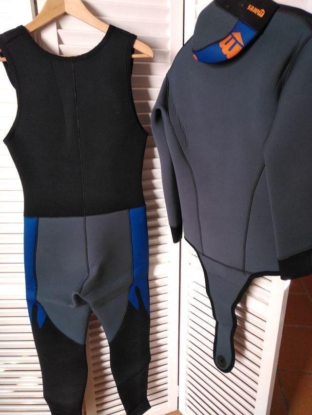 traje buceo/inmersión caballero