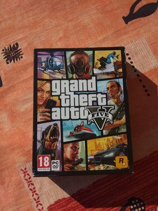 Juego Grande Theft Auto V para Pc. Mapa incluido!