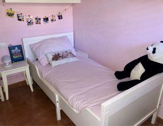 Cama infantil extensible Ikea