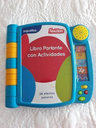 juguete libro de sonidos educativo.(1-3 años)