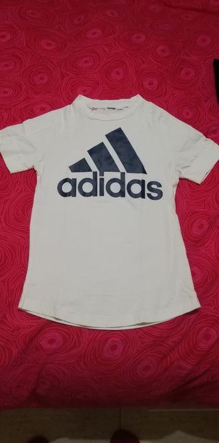 camiseta Adidas niño talla 8