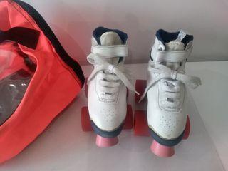 patines 4 ruedas Boomerang n° 26-27+bolsa