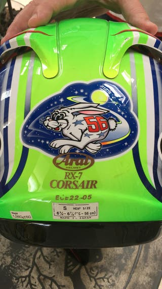 Casco Arai RX7 Corsair Shinya Nakano