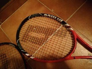 Raquetas y bolsa tenis