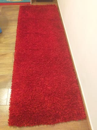 alfombra pasillera roja