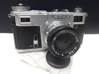 Camara analógica KIEV-4. Objetivo 53mm. f.1.8