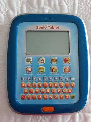 Tablet niños de Vtech pantalla tactil.