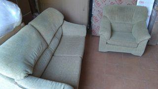Sofá 3 plazas + sillón