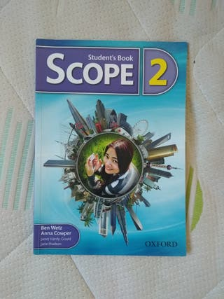 Studentbook y Workbook Scope 2 (Oxford)