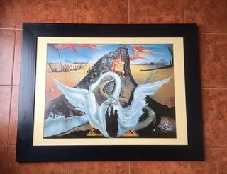 "Cuadro ""Bacanal"" de Dalí"