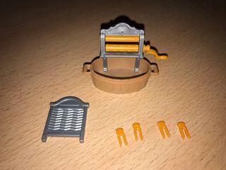 Playmobil lote lavandería casa victoriana