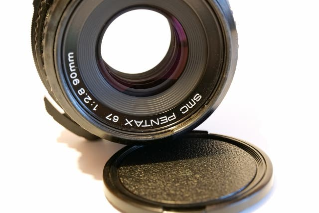 Objetivo PENTAX SMC 67 90mm 1:2.8