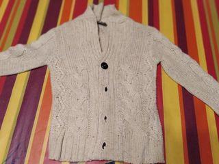 chaqueta lana y camisa niño 4 a 5