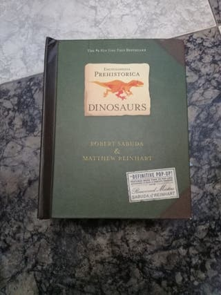 enciclopedia dinosaurios pop up en inglés