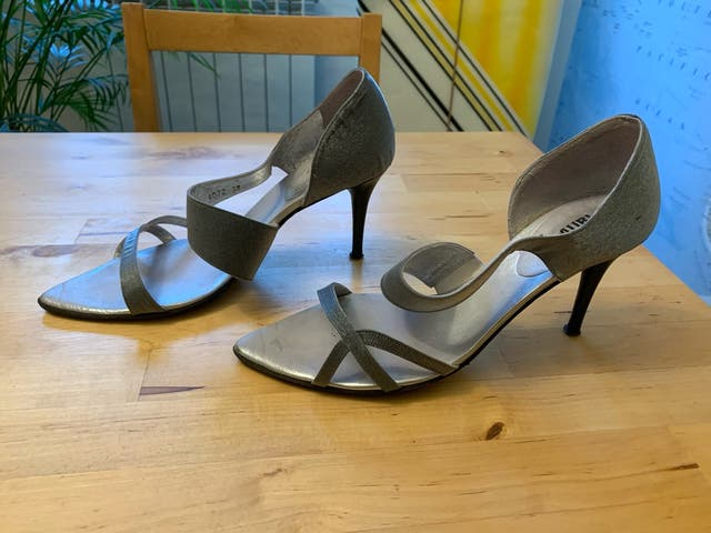 Zapatos tacón fiesta talla 38