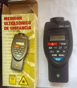 Medidor ultrasónico a distancia