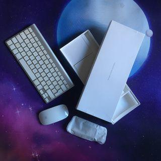 Teclado Bluetooth Apple + Magic Mouse Apple