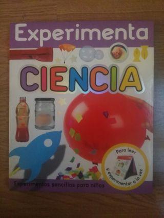 "Libro ""Experimenta Ciencia"""