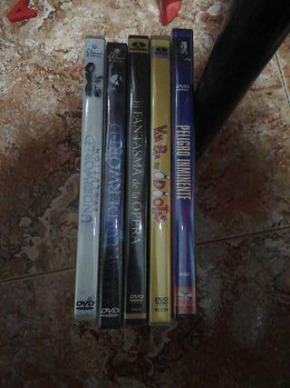 DVD nuevos