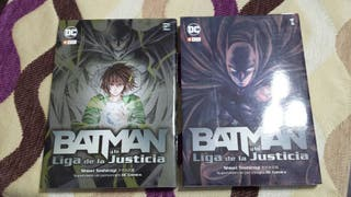 Batman y la liga de la justicia (comic manga)