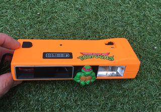 Tortugas ninja cámara de fotos