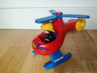 Helicóptero de rescate Playmobil 123
