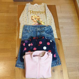 Lote ropa niña 4 años